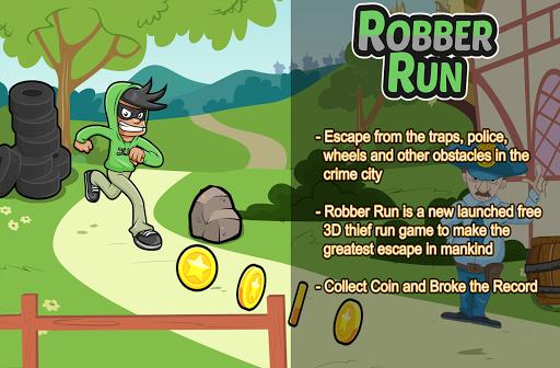 Angry Robber Boy Run Dash 3D