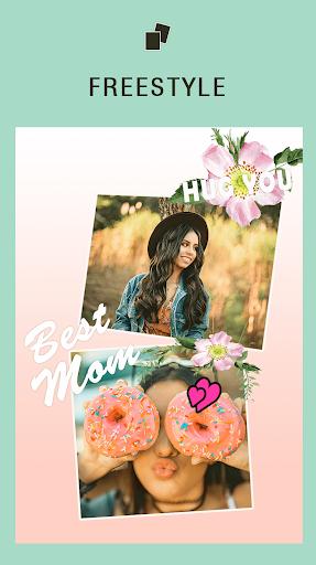 Photo collage maker & Photo Layout capturas de pantalla 2