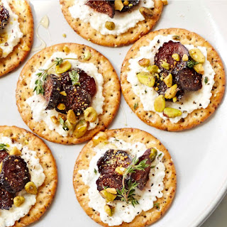 Party Time! Make These Pickled Fig And Ricotta Canapés