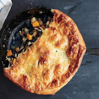 Skillet Chicken Pot Pie with Butternut Squash
