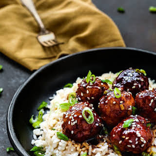 Instant Pot Teriyaki Turkey Meatballs.