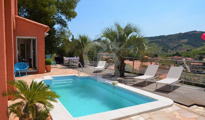 Maison avec piscine Collioure