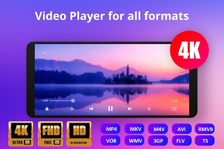 Video Player All Format Mod Apk (Premium Features Unlocked) 1