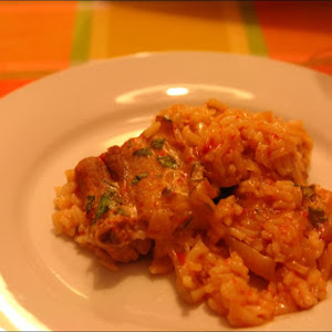 Baked Ribs Rice