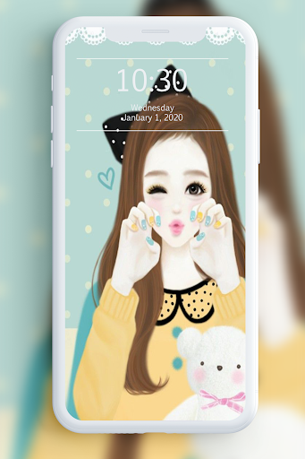 Cute Laura Wallpaper 1.1 screenshots 6