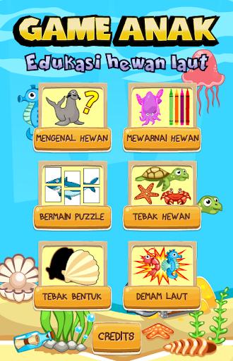 Game Anak Edukasi Hewan Laut 2.0.0 screenshots 1