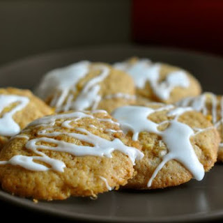 Frosted Pineapple Cookies.