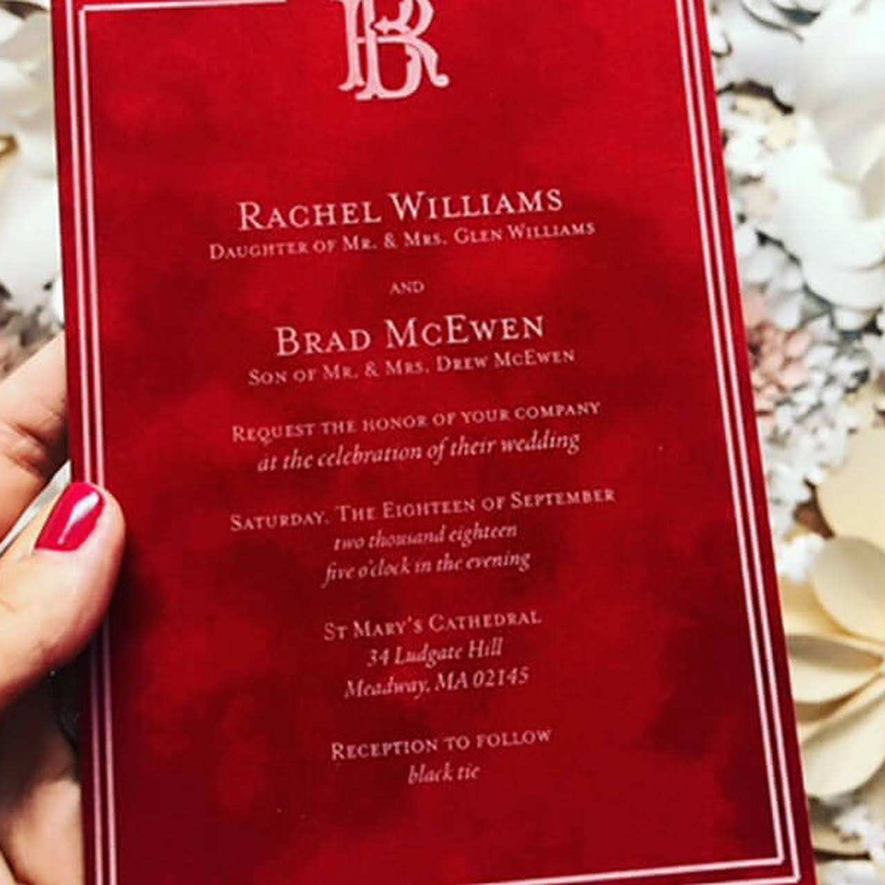 Boxed Wedding Invitations Peabody Ma - Wedding Invitation