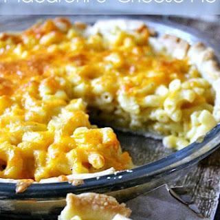 Macaroni and Cheese Pie.