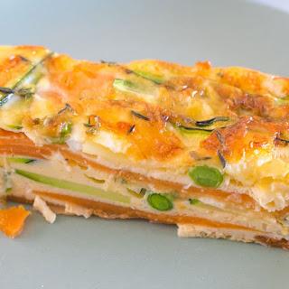 Sweet Potato and Zucchini Healthy Strata Bake Recipe