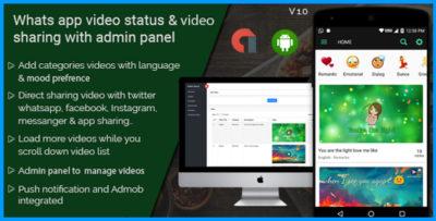 whatsapp status and video sharing