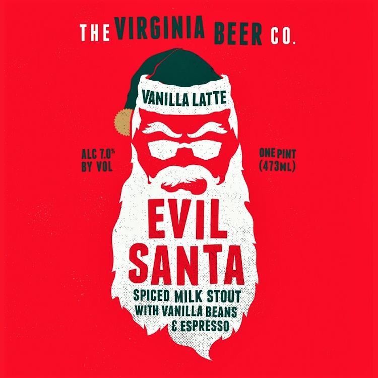 Logo of Virginia Beer Co. Vanilla Latte Evil Santa