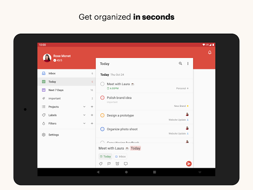 Todoist screenshot 8