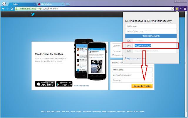 One Site One Password