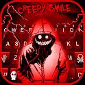 Creepy Red Smile Keyboard Theme icon
