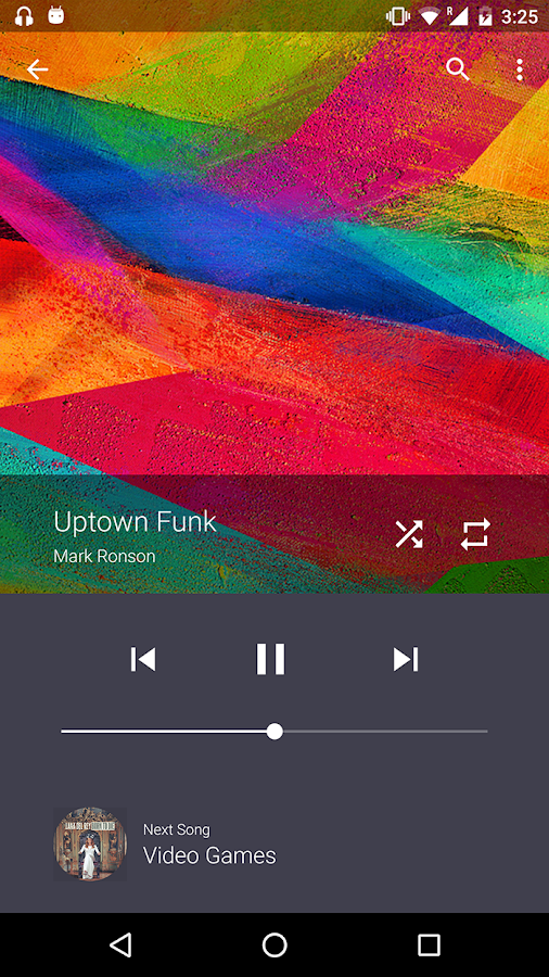 Timber Music Player- screenshot