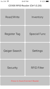App CS108 C# Demo APK for Windows Phone