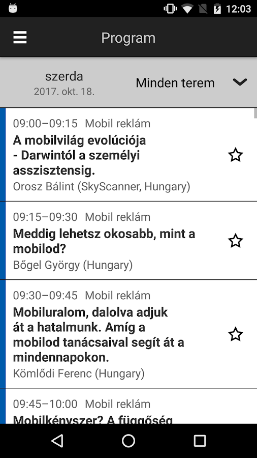 Mobile Hungary- screenshot