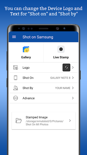ShotOn for Samsung: Add Shot On to Gallery Photos 1.3 [Premium] APK