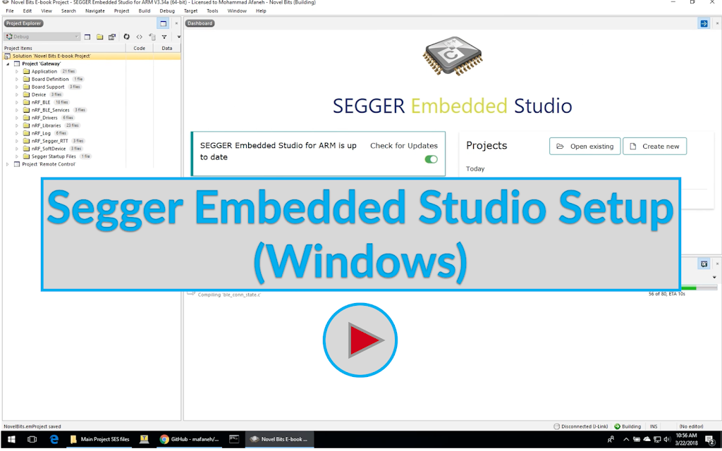 Segger Embedded Studio Setup (Windows) Image