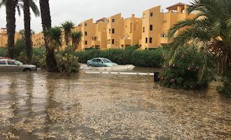 40 incidencias por lluvia en toda la provincia