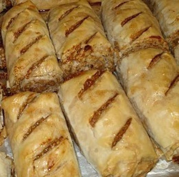 Baklava Roll-ups Recipe