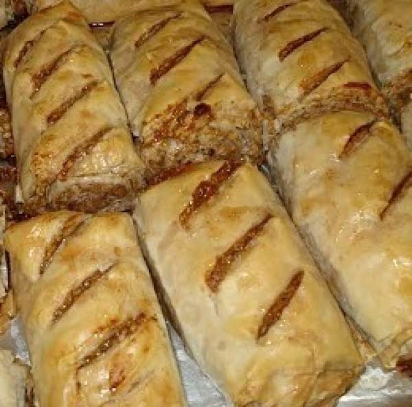 Baklava Roll-ups Recipe