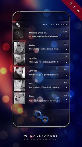 Wallpapers QB Messenger screenshot 21