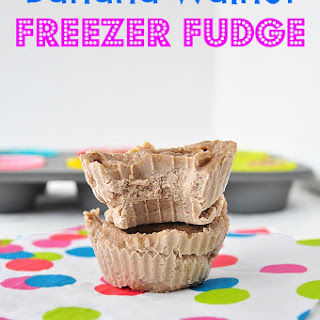 Banana Walnut Freezer Fudge