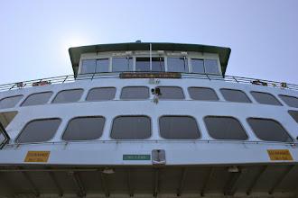 Photo: On board the ferry Kaleelan