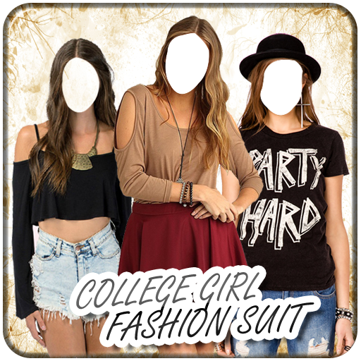 College Girl Fashion Suit 攝影 LOGO-玩APPs