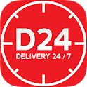 D24 - Delivery 24/7 icon