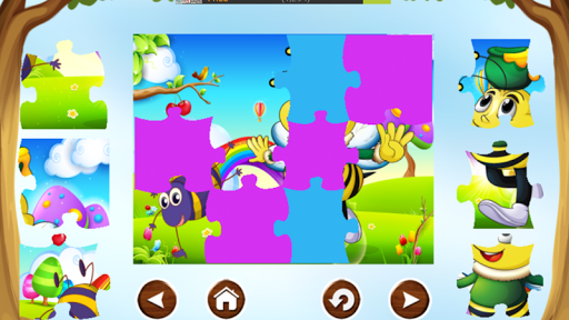 Bee Puzzle Games Free For Kids