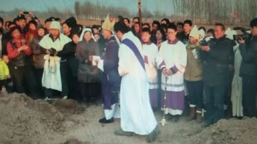 Catholic Bishop and 10 Priests Detained in Henan