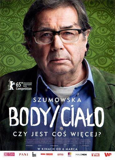 Przód ulotki filmu 'Body/Ciało'