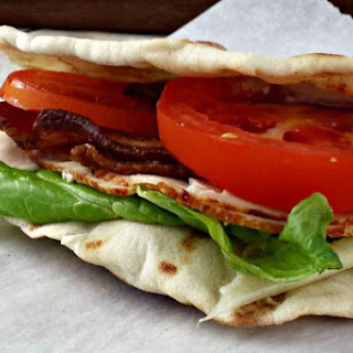 Turkey Bacon Club Wrap