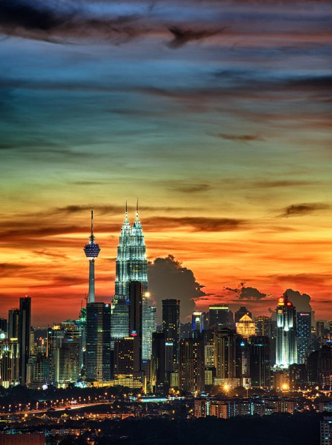 KL skyline by Yaman Ibrahim - Landscapes Travel