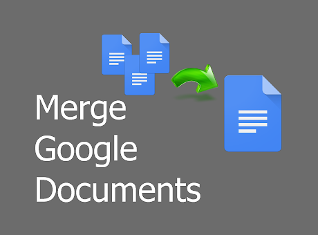 Merge Google Documents, Spreadsheets