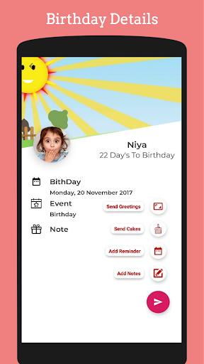 Birthday Reminder Greeting Cards Photo On Cake Apk Download