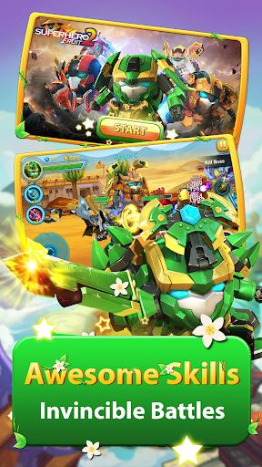 ninja fruit: superhero fighting - future war screenshot 1