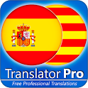 Spanish - Catalan Translator ( Text to Speech ) icon