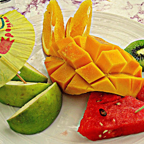 Summer Treat by Ne-z Lim - Food & Drink Fruits & Vegetables ( assorted fruits, food, plated food )