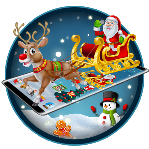 Merry Christmas Santa theme (app)