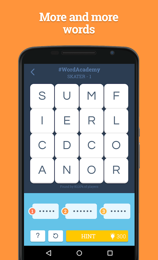 Screenshots of Word Academy for iPhone