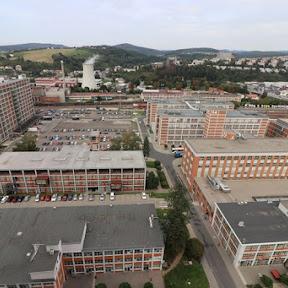 チェコ南東部ズリーン(Zlin)最大のコングレスホテル「インターホテル モスクワ」