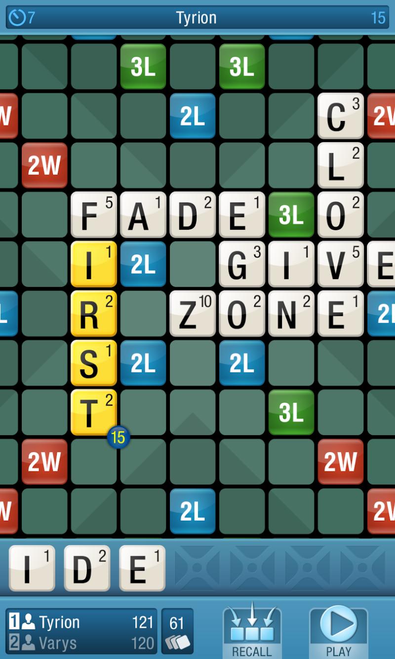 CrossCraze PRO - Classic Word Game Screenshot 3