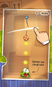 Cut the Rope FULL FREE MOD Apk (Unlimited Tips) 2