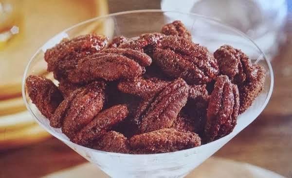 Spicy Cocoa-glazed Pecans