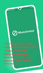 WhatsDelete: View Deleted Messages & Status saver 2.1.37 Mod APK Updated Android 2