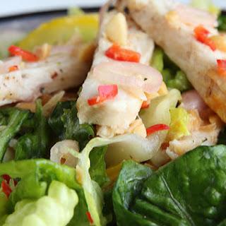 1. Chicken Salad With Thai Dressing